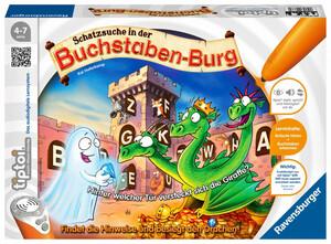 """Ravensburger tiptoi """"Schatzsuche in der Buchstabenburg"""""""