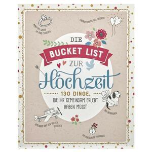 IDEENWELT Buch ´´Die Bucket List zur Hochzeit´´