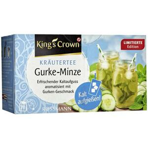 King´s Crown Kräutertee Gurke-Minze 3.73 EUR/100 g
