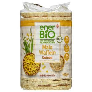 enerBiO Mais Waffeln Quinoa