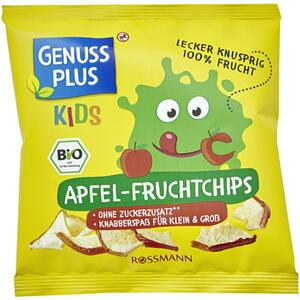 GENUSS PLUS Kids Bio Apfel-Fruchtchips 8.06 EUR/100 g