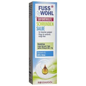Fusswohl Schrunden Salbe Soforthilfe 1.99 EUR/100 ml