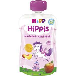HiPP Bio Hippis Mirabelle in Apfel-Pfirsich (6 x 100.00g)