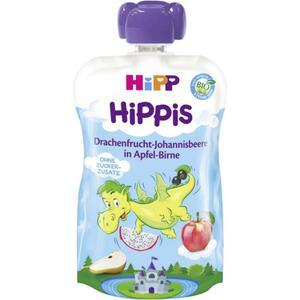 HiPP Bio Hippis Drachenfrucht-Johannisbeere in Apfel-Birne (6 x 100.00g)