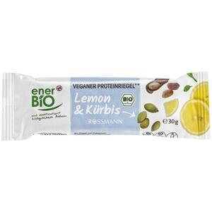 enerBiO veganer Proteinriegel** Lemon & Kürbis 3.30 EUR/100 g