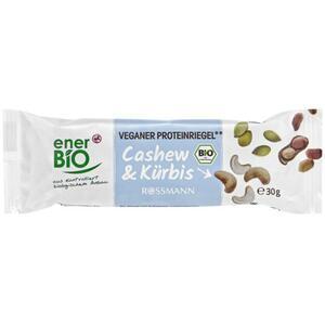 enerBiO veganer Proteinriegel** Cashew & Kürbis 3.30 EUR/100 g