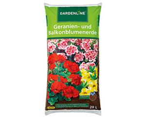 GARDENLINE®  Geranien- und Balkonerde