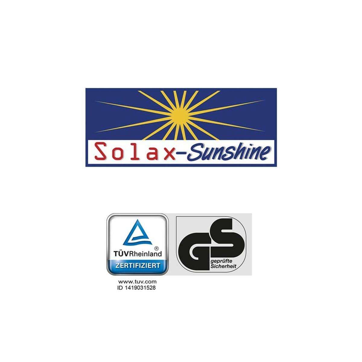 Bild 2 von Solax-Sunshine Garten- und Saunaliege, Blau