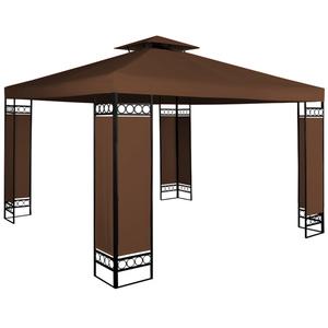 Deuba Pavillon Lorca - 3x3m - braun