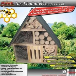 Mauk Insektenhotel, 34 x 32 x 11 cm