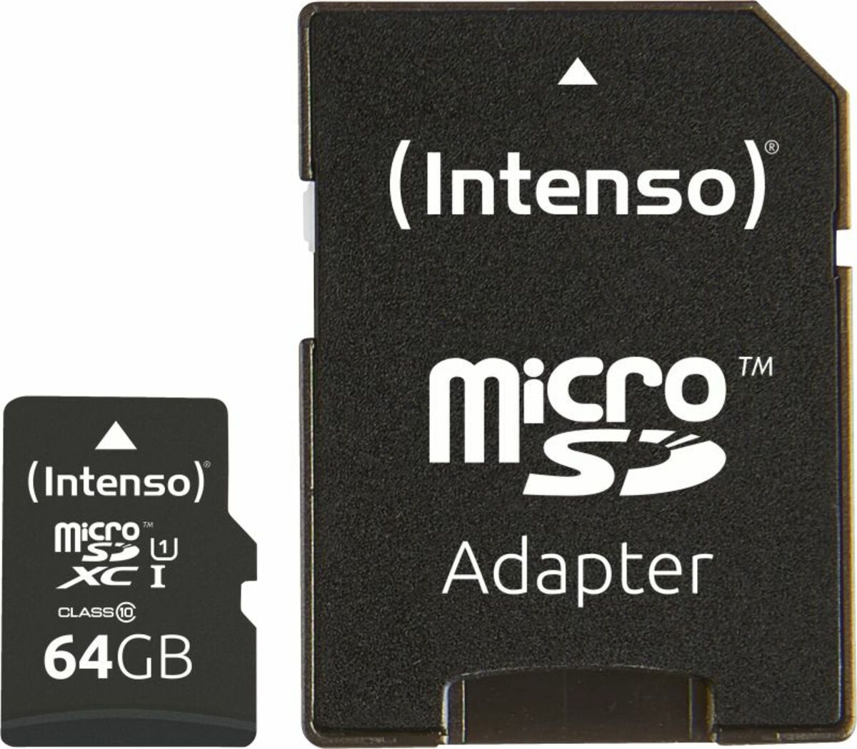 Bild 1 von Intenso Micro SD Card 64GB UHS-I inkl. SD Adapter
