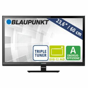 "23,6""-LED-HD-TV BLA-236/207O • Auflösung 1.366 x 768 Pixel • 2 HDMI-Eingänge, USB-/CI+-Anschluss • Stand-by: 0,5 Watt, Betrieb: 25 Watt • Maße: H 33,5 x B 54,8 x T 4,3 cm • E nergie-Ef"