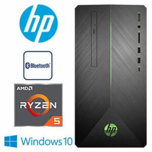 Pavilion Gaming PC 690-0731ng • AMD-Ryzen5-2600 Prozessor (bis zu 2,6 GHz) • nVidia GTX 1060 mit 3-GB-DDR5-Video-RAM • DVD-RW-Laufwerk