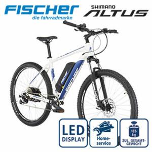 E-Mountainbike Montis 2.0 • Fahrunterstützung bis ca. 25 km/h • Li-Ionen-Akku mit hochwertigen Markenzellen 48 V/8, 8 Ah, 422 Wh • Reichweite: bis ca. 120 km (je nach Fahrweise) • wartungsfr