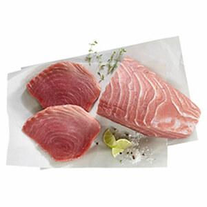 Thunfischsteak natur oder mariniert, Wildfang, Indischer Ozean, je 100 g