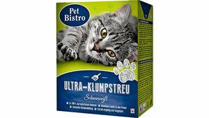 Pet Bistro Ultra-Klumpstreu Schneeweiß für Katzen 6L