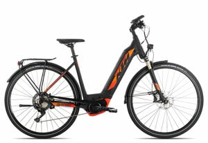 KTM MACINA SPORT LTD 11 Wave 2019 | 46 cm | black matt/orange
