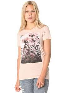 Iriedaily Stamp Flower - T-Shirt für Damen - Pink