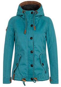 NAKETANO Pimmelohrfeige - Jacke für Damen - Blau