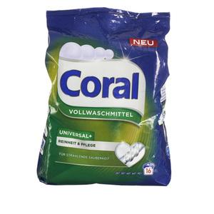 """Coral Universal- Vollwaschmittel """"Reinheit & Pflege"""""""