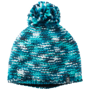 Jack Wolfskin Mütze Kinder Kaleidoscope Knit Cap Kids M blau