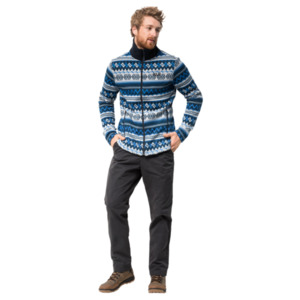 Jack Wolfskin Fleecejacke Männer Nordic Jacket Men XXL blau
