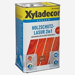 Xyladecor -              Xyladecor Holzschutzlasur 2in1 kastanienfarben 2,5 l