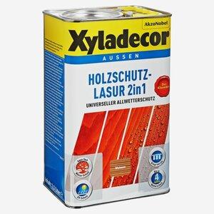 Xyladecor -              Xyladecor Holzschutzlasur 2in1 walnussfarben 2,5 l