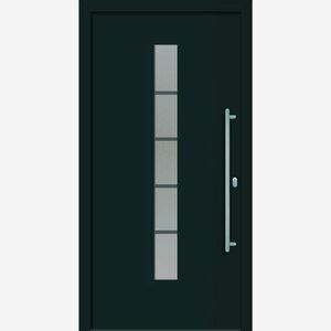 "Roro -              Roro Alu-Kunststoffhaustür ""Montreal""  anthrazit DIN R 100x210cm"