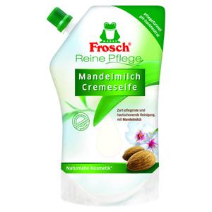 """Frosch Pflegeseife """"Reine Pflege"""" Mandelmilch 500 ml"""