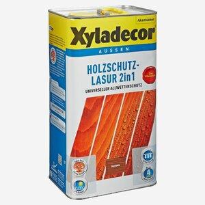 Holzschutzlasur 2in1 kastanienfarben 5 l