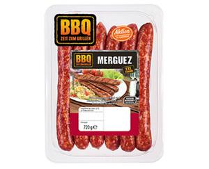 BBQ Bratwurst Merguez XXL