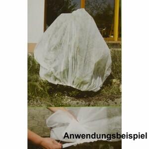 Schutzvlies 2x2,4m 20g/m² weiss Winterschutzvlies Vlies Pflanzenschutz