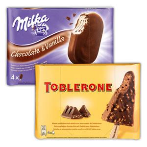 Milka/Toblerone Eissticks