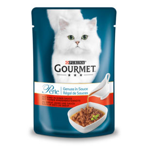Gourmet Perle Genuss in Sauce 24x85g