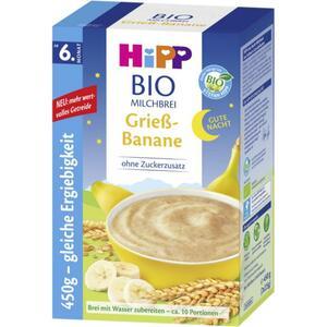 HiPP Bio Milchbrei Grieß-Banane ab dem 6. Monat 8.87 EUR/1 kg