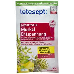 tetesept Meersalz Muskel & Entspannung 1.24 EUR/100 g