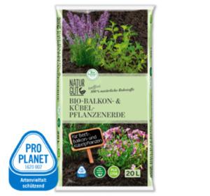 NATURGUT Bio-Balkon-und-Kübel-Pflanzenerde