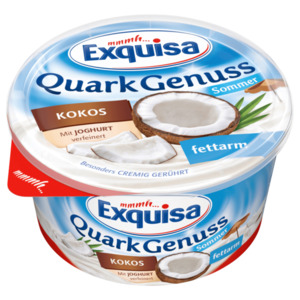 Exquisa Quark Genuss Kokos 500g