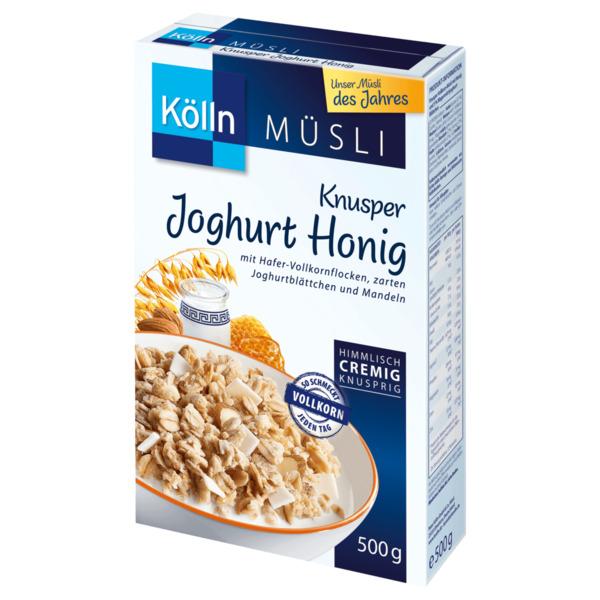 Kölln Müsli Knusper Joghurt Honig 500g