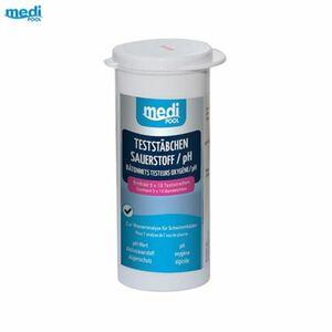 mediPOOL Wasserteststäbchen Sauerstoff/pH 50 Stück