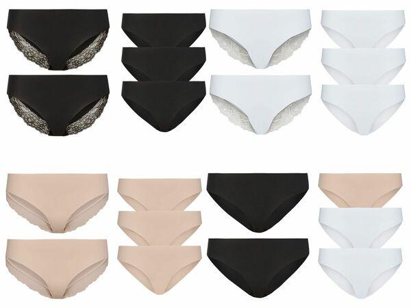 ESMARA® Lingerie 5 Damen Lasercut-Slips