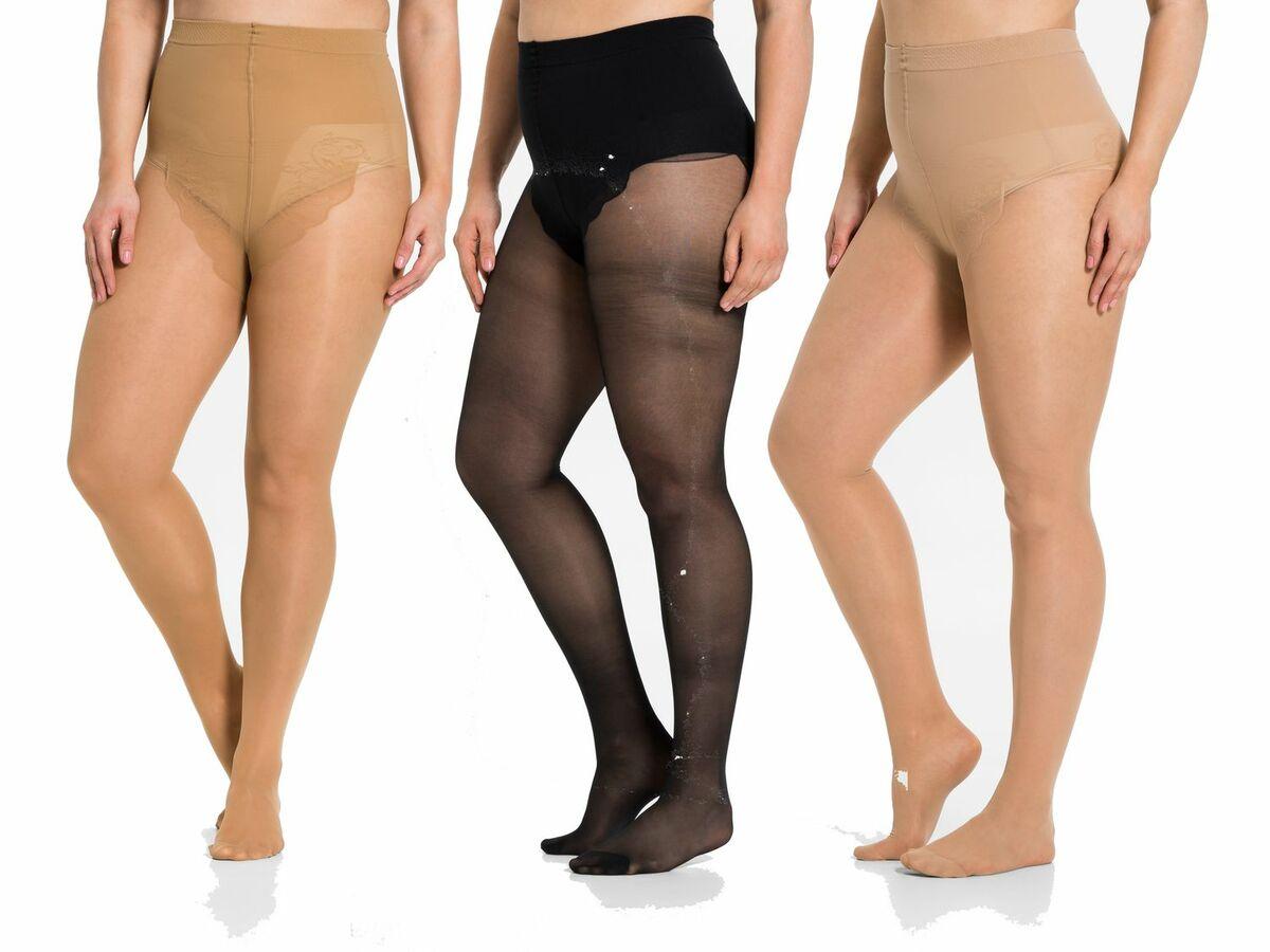 Bild 1 von ESMARA® 3 Damen Stützstrumpfhosen