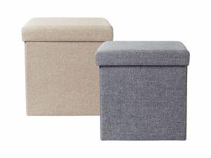 LIVARNO LIVING® Sitzhocker mit Aufbewahrungsmöglichkeit