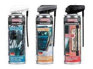 POWERFIX® Multifunktionsöl/Silikon-/PTFE-Spray