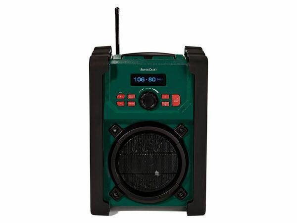 SILVERCREST® Baustellenradio DAB+