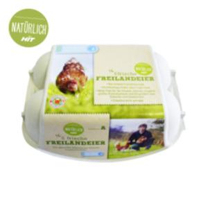 """Eier M-L Freiland Tierschutzlabel """"Für Mehr Tierschutz"""""""