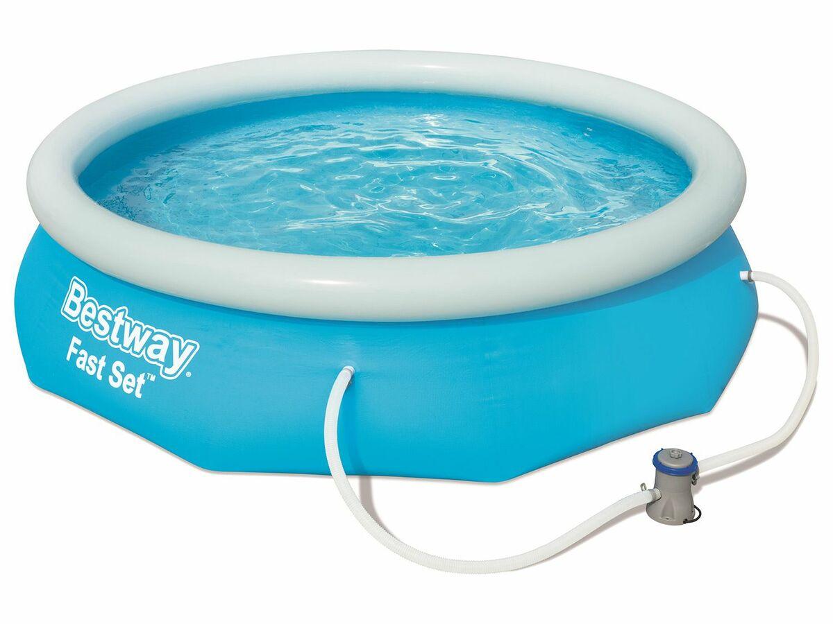 Bild 1 von Bestway Fast Set Pool Set, rund, 305 x 76 cm