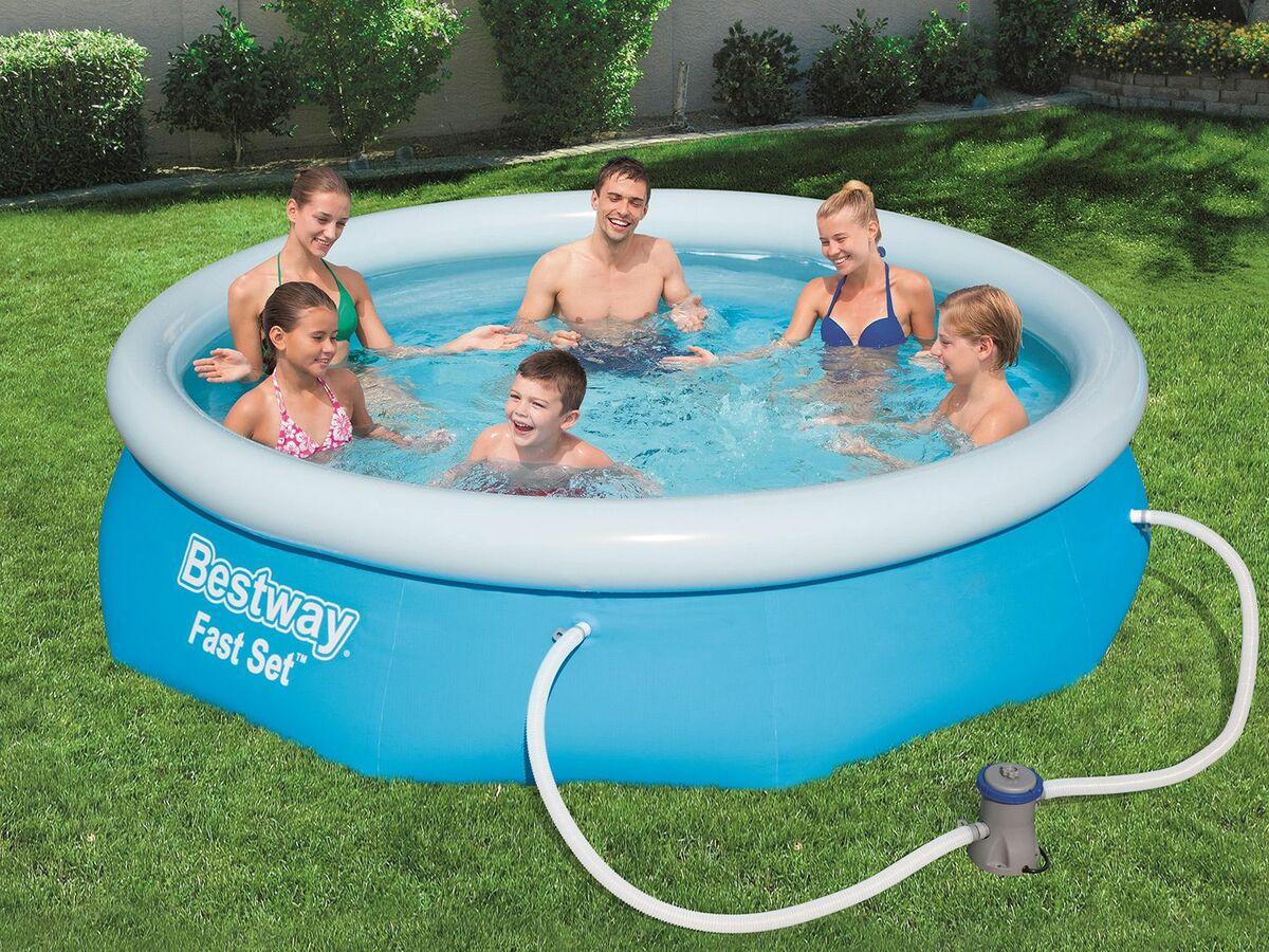 Bild 5 von Bestway Fast Set Pool Set, rund, 305 x 76 cm