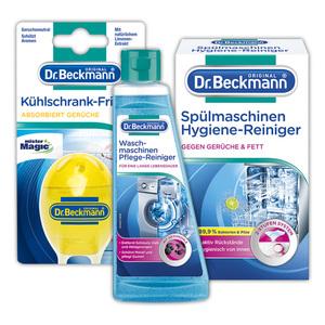 Dr. Beckmann Spülmaschinen-/ Waschmaschinen-/ Kühlschrankpflege